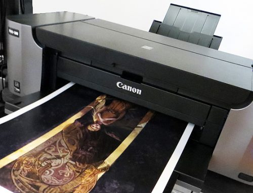 Printing your own Illustrations