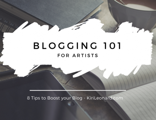 Blogging 101 for Artists: 8 Tips to Boost your Blog