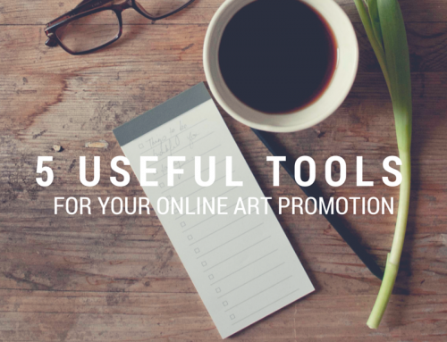 5 Useful Tools for Your Online Art Promotion