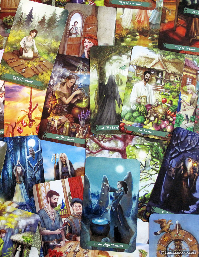 Green Witch Tarot Cards