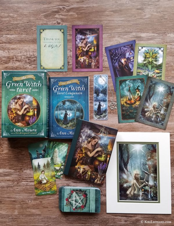 Green Witch Tarot: Artist's Extended Edition