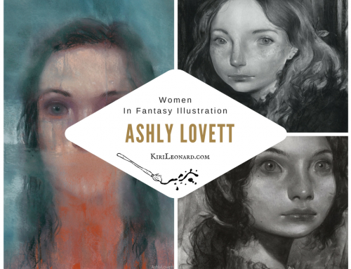 Women in Fantasy Illustration: Ashly Lovett