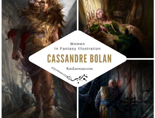 Women in Fantasy Illustration: Cassandre Bolan