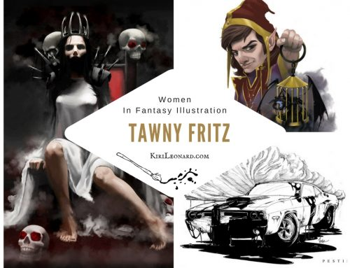 Women in Fantasy Illustration: Tawny Fritz