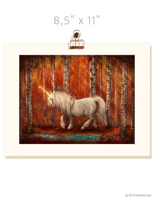 Print: The Year of the Unicorn - Autumn