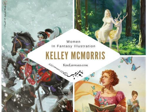 Women in Fantasy Illustration: Kelley McMorris