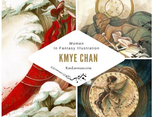Women in Fantasy Illustration: Kmye Chan