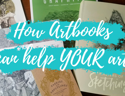 Artist Vlog #2: How art books can improve YOUR art
