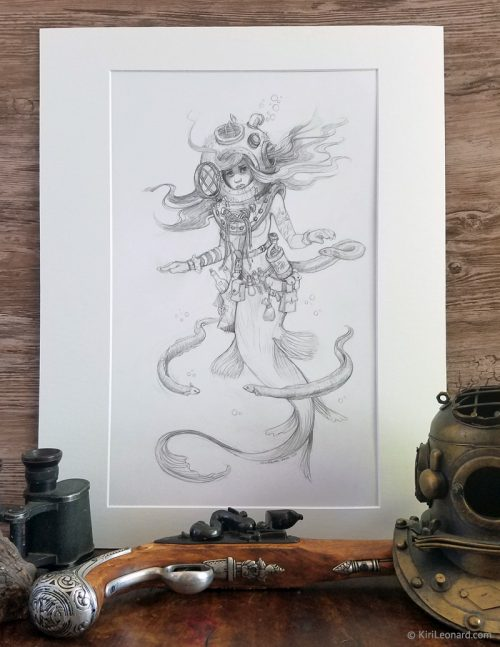 Original Drawing: The Aquatic Collector