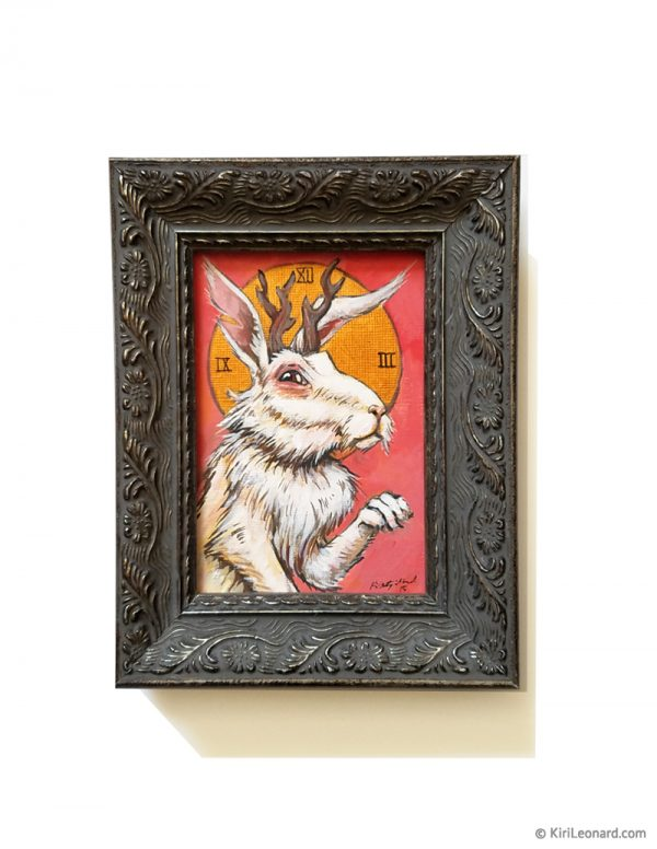 Original Painting: The White Rabbit