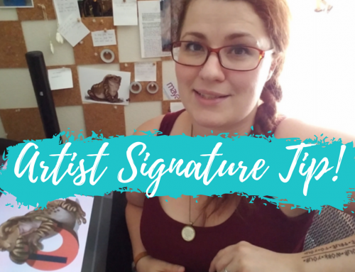 Artist Signature Tip, Time-lapse Painting & Patreon Teaser