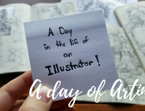 A Day in the Life of an Illustrator
