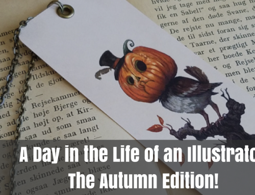 A Day in the Life of an Illustrator: Autumn Edition