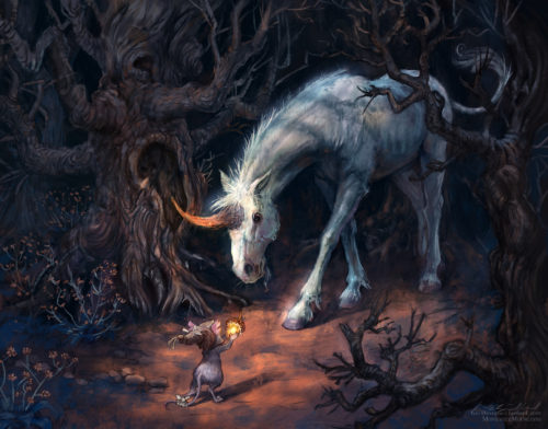 Montague Mouse: Meeting the Unicorn