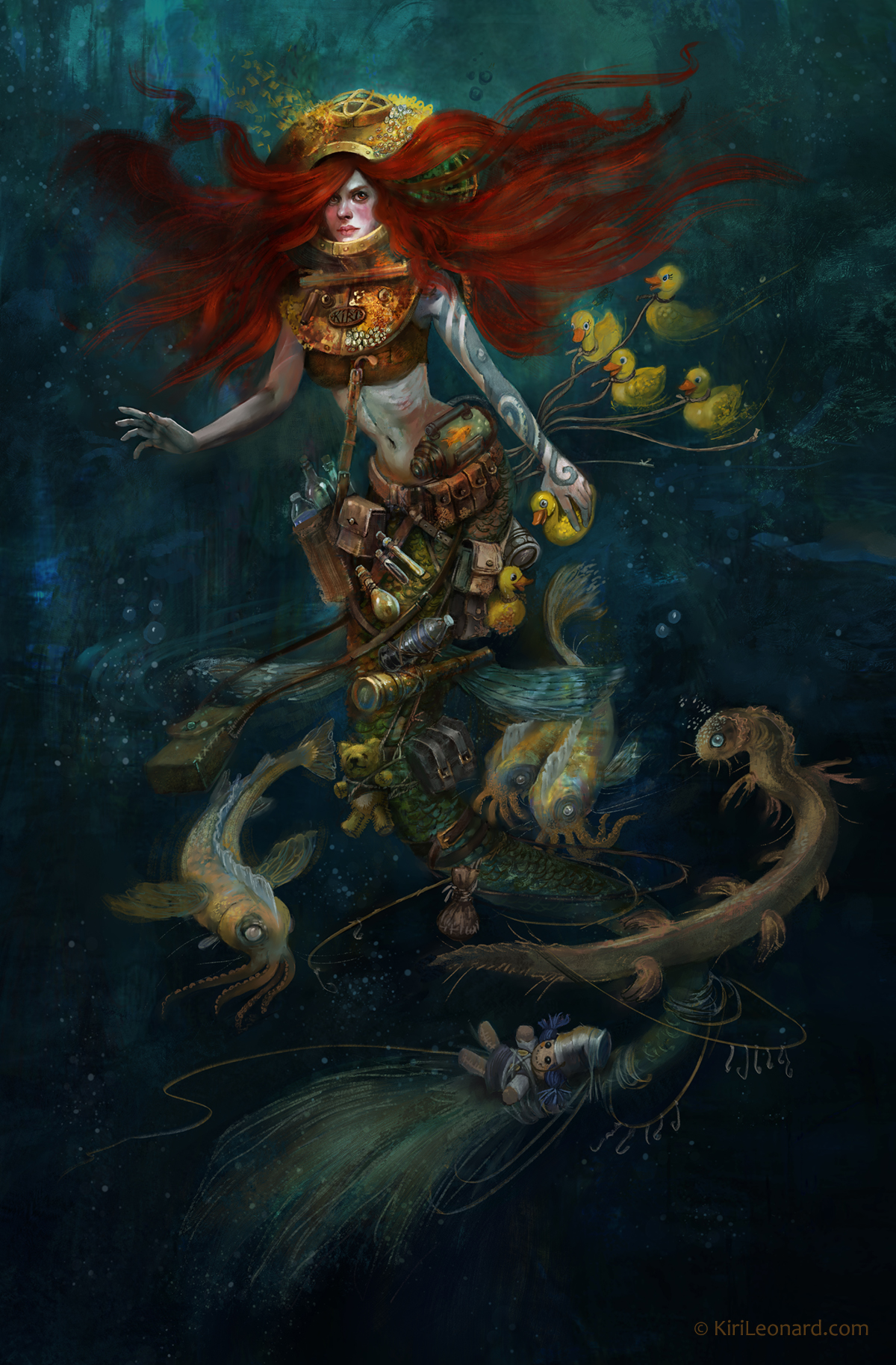 The Mermaid Collector by Kiri Østergaard Leonard, 2018.