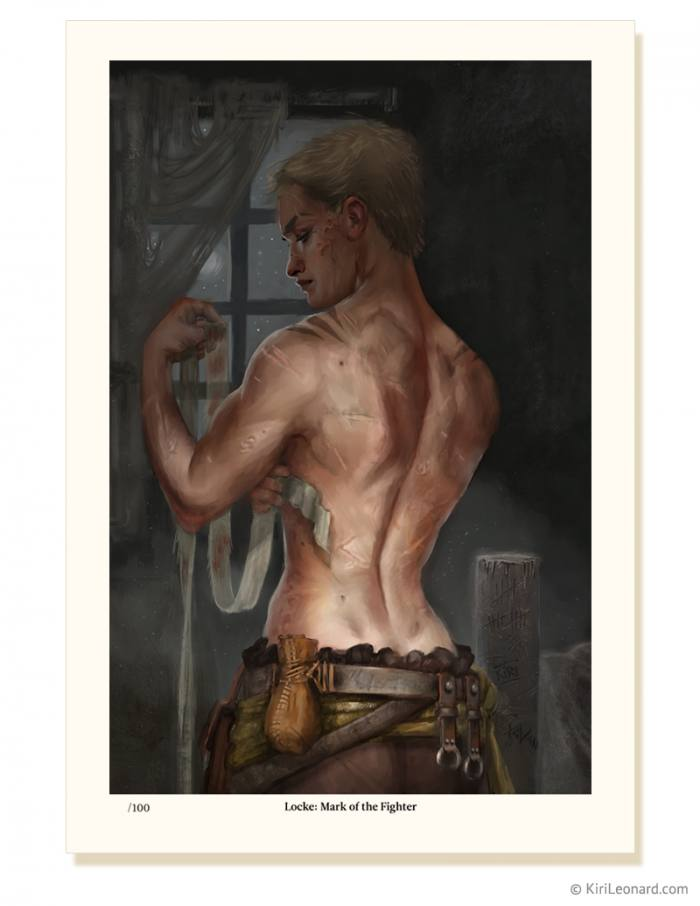 Locke: Mark of the Fighter Limited Edition Print