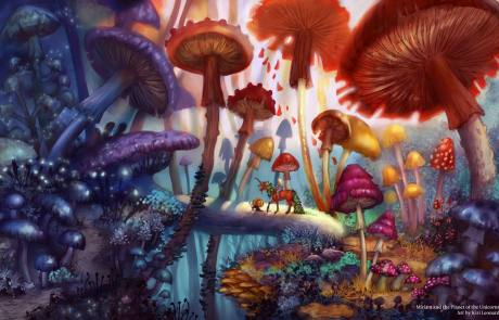 Miriam and the Planet of the Unicorns: The Mushroom Forest