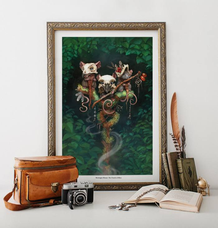 Limited Edition Print: The Oracle of Mice