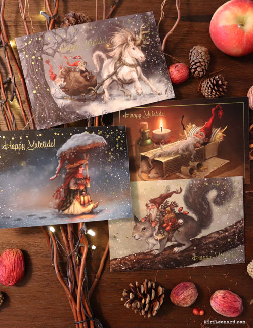 Holiday Card: The Gnome Series